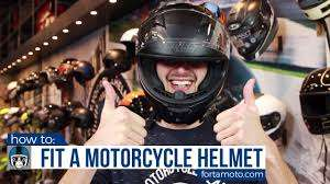 How to Size a Motorcycle Helmet