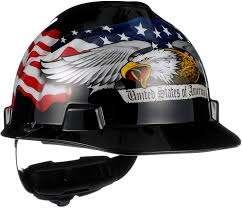 MSA 10052945 American Freedom Series V-Gard Slotted Protective Cap