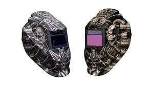 Metal Man ATEC8735SGC 9-13 Variable Shade Professional Auto-Darkening Welding Helmet