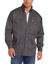 Wrangler Riggs Men's Fr Flame Resistant Long Sleeve Shirt