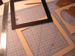Create a Frame Around the vinyl floor Mat