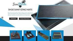 Shoe Sanitizing Doormat