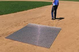 Steel Drag Baseball Mat
