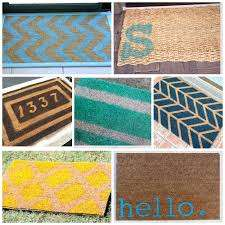 The Best DIY Doormat