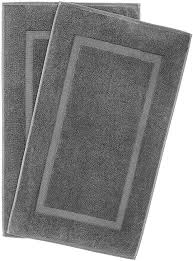 900 GSM 20x34 Inches 2-Pack Banded Bath Mats