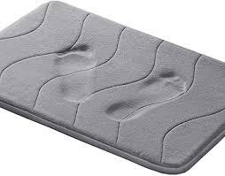 Memory Foam Coral Fleece Bathroom Mat