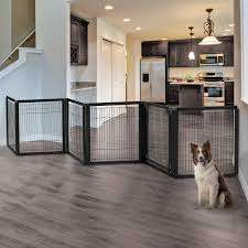 The Richell Freestanding Additional Large Walk-Through Security Gate