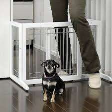 The Richell Freestanding Pet Gate