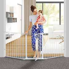 Munchkin Easy Close Pressure Mounted Baby Gate For Stairs