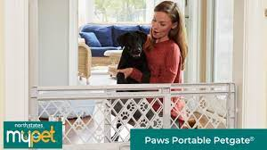 My Pet Paws Portable Pet Gate