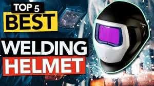 Top welding helmet