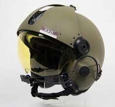 Carbon Fiber Helicopter Helmet
