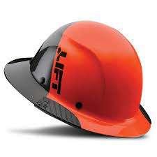 Life Safety DAX Fifty 50 Carbon Fiber Full Brim Hard Hat