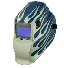 Metal Man ATEC8735SGC 9-13 Welding Helmet, Techno Skull