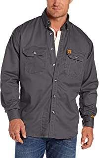 Wranglers Riggs Men FR Flame Resistant Long Sleeve Shirt