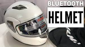 ILM Bluetooth Turnover Up Full-Face Motorcycle Helmet