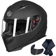 ILM Full Face Street Bike Helmet